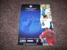 Oldham Athletic v Bristol City, 2001/02